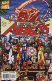 Avengers #10 (1998) Busiek Perez Marvel comic book